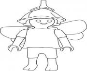 Coloriage playmobil elfe
