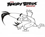 angry birds le film 3 dessin à colorier