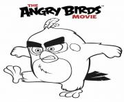 Coloriage angry birds le film
