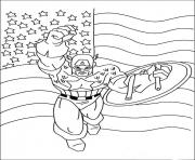colorier captain america 23 dessin à colorier