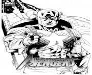avengers captain america 274 dessin à colorier