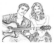 Coloriage violetta disney 11