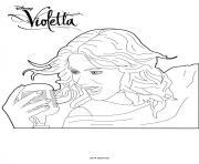 Coloriage Violetta à Imprimer Gratuit Sur Coloriageinfo