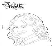 Coloriage violetta pose mannequin top model dessin