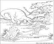 dinosaure gratuit 32 dessin à colorier