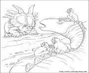 Coloriage dinosaure 22 dessin