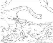 dinosaure gratuit 46 dessin à colorier