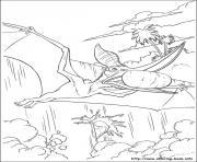 dinosaure gratuit 28 dessin à colorier