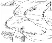 Coloriage dinosaure tyrannosaure dessin - Dessin de tyrannosaure ...