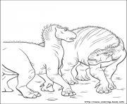 dinosaure gratuit 35 dessin à colorier