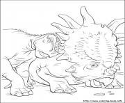 dinosaure gratuit 37 dessin à colorier