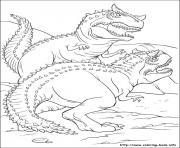 dinosaure gratuit 38 dessin à colorier