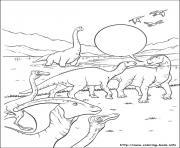 dinosaure gratuit 56 dessin à colorier