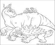 dinosaure gratuit 68 dessin à colorier