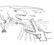 dinosaure 198 dessin à colorier