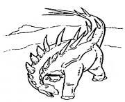dinosaure 30 dessin à colorier