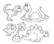 dinosaure 336 dessin à colorier