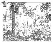 dinosaure 233 dessin à colorier