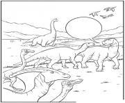 dinosaure 58 dessin à colorier