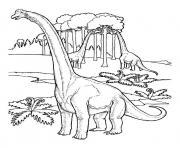 dinosaure 17 dessin à colorier