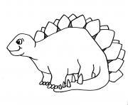 dinosaure 18 dessin à colorier