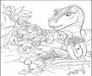 dinosaure 99 dessin à colorier