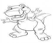 dinosaure 50 dessin à colorier