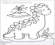 dinosaure 127 dessin à colorier
