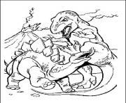 dinosaure 29 dessin à colorier