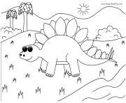dinosaure 228 dessin à colorier