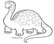 dinosaure 9 dessin à colorier