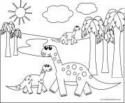 dinosaure 270 dessin à colorier