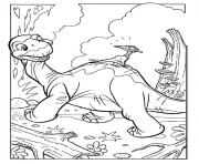 dinosaure 3 dessin à colorier