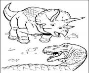 dinosaure 32 dessin à colorier