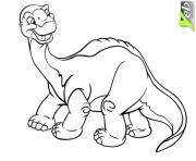 Coloriage dinosaure rigolo dessin imprimer - Dinosaure rigolo ...