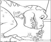 dinosaure 290 dessin à colorier