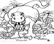 dinosaure 16 dessin à colorier