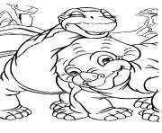 dinosaure 145 dessin à colorier