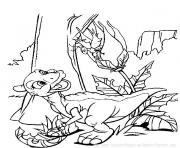 dinosaure 240 dessin à colorier