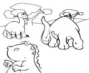 dinosaure 93 dessin à colorier