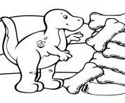 dinosaure 400 dessin à colorier