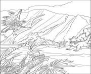 dinosaure 133 dessin à colorier