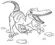 dinosaure 12 dessin à colorier