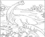 dinosaure 41 dessin à colorier