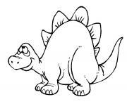 dinosaure 11 dessin à colorier