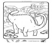 dinosaure 33 dessin à colorier