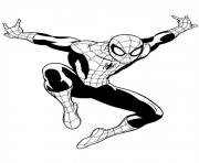 Coloriage ultimate spiderman 3