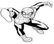 coloriage ultimate spiderman 4