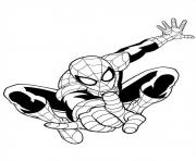 Coloriage ultimate spiderman