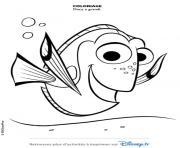 dory a grandi le monde de dory dessin à colorier